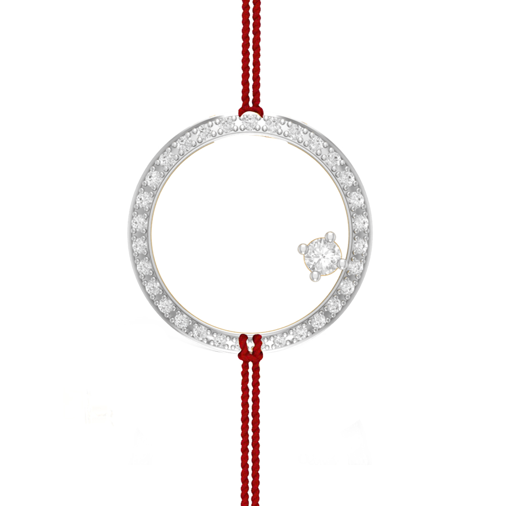Cjsp0076 1000x1000g charu jewels circle of love diamond pendant for rakhi aloadofball Images
