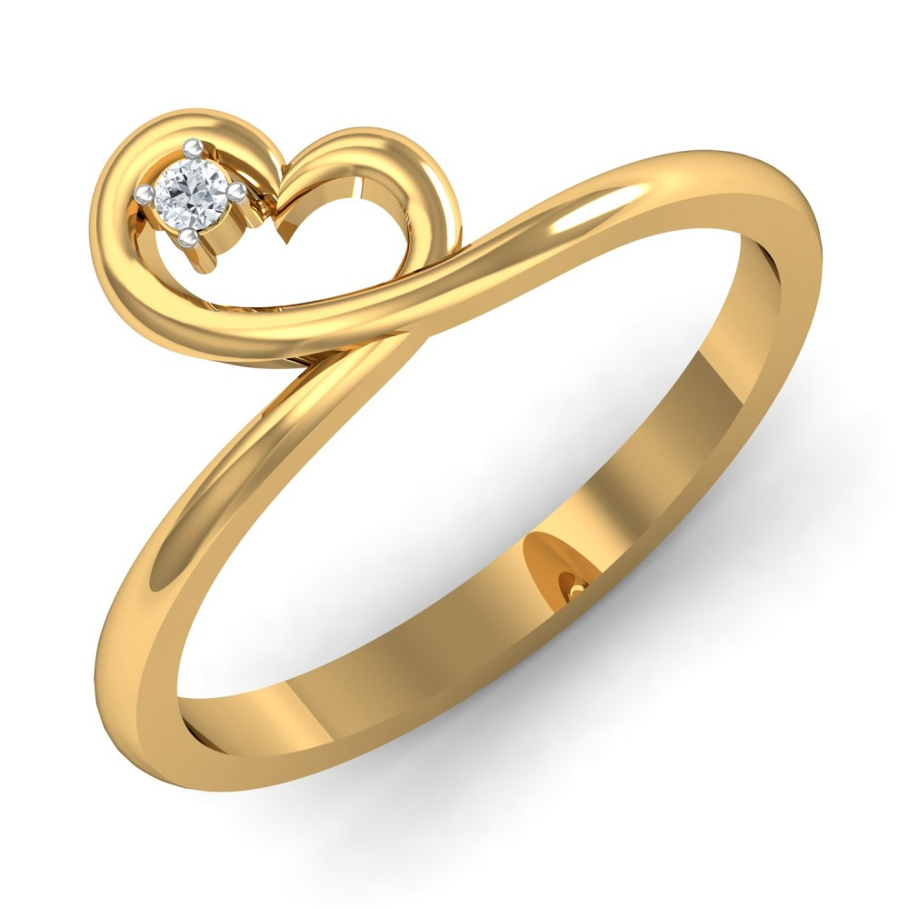having engagement with gold cute golden gorgeous diamond rings look