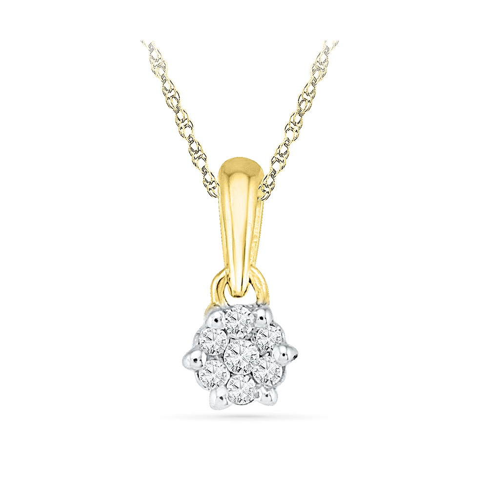 pendant shining cut designer diamond diamonds round
