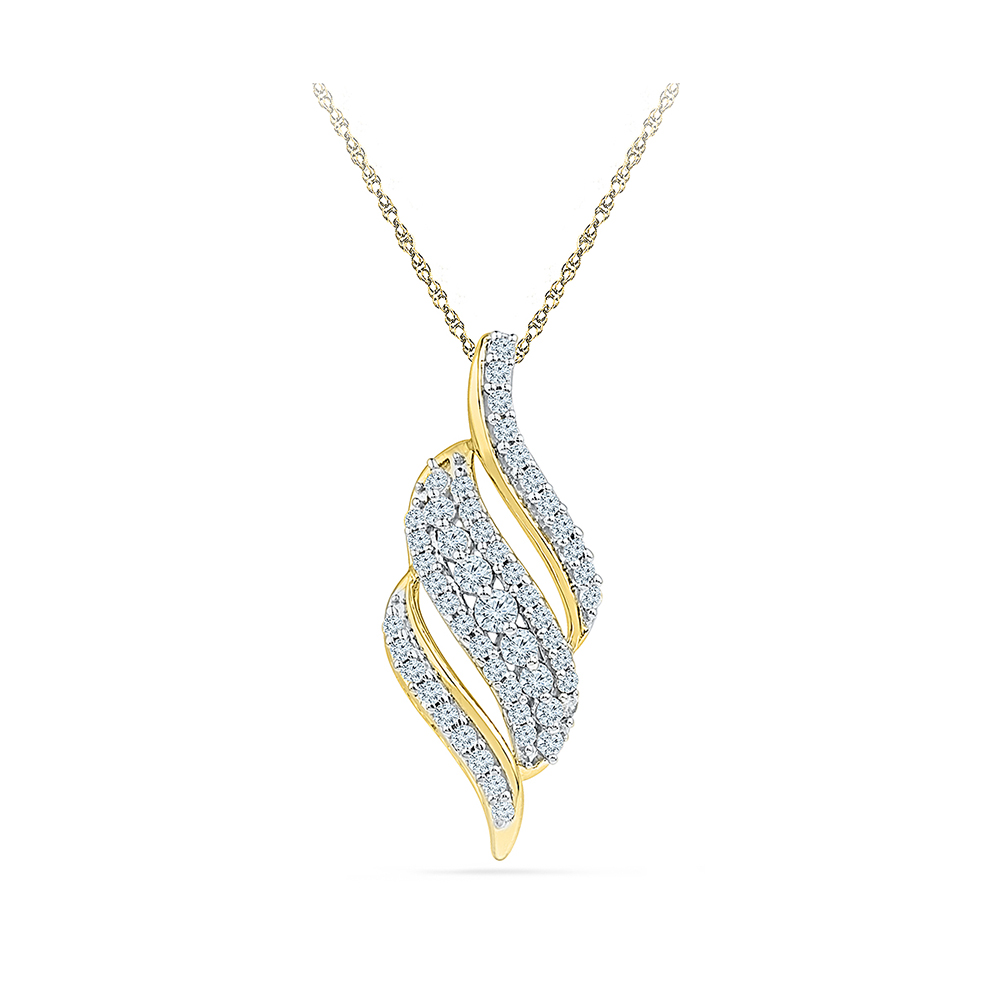 channel products diamond set pendant necklace dsc ways modern collections ctw