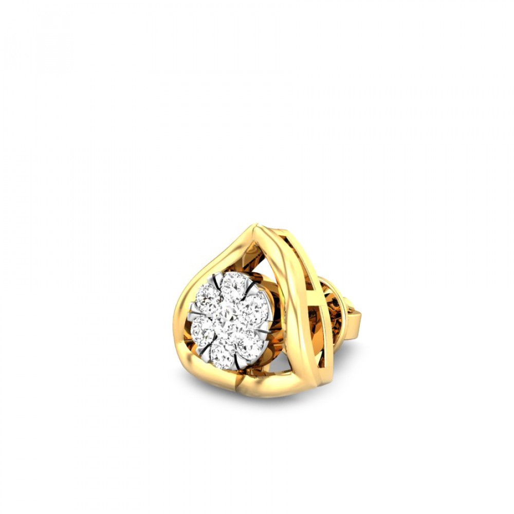 Candere by Kalyan Jewellers 14K BIS Hallmark Yellow Gold Astra ...