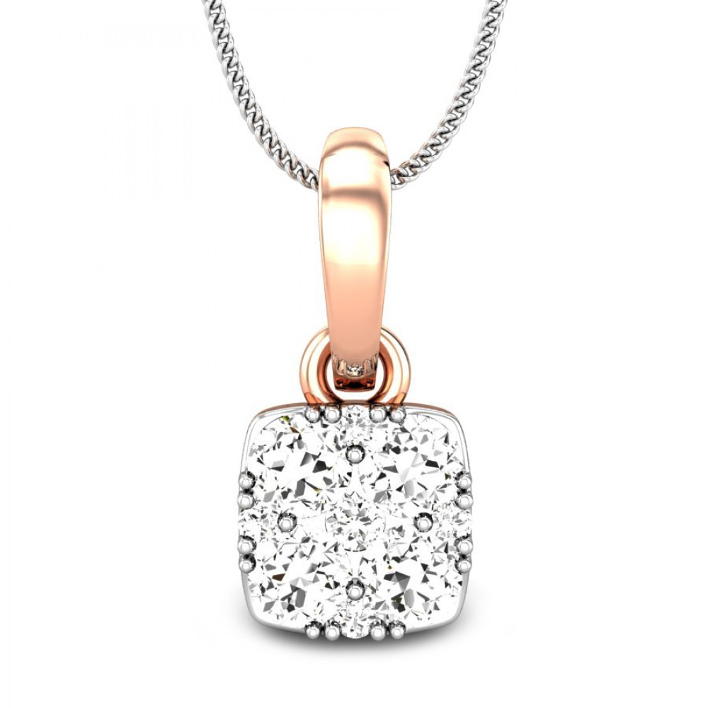 Candere by kalyan jewellers 14k bis hallmark rose gold asteria candere by kalyan jewellers rose gold asteria ziah diamond pendant for women igi certified mozeypictures Image collections