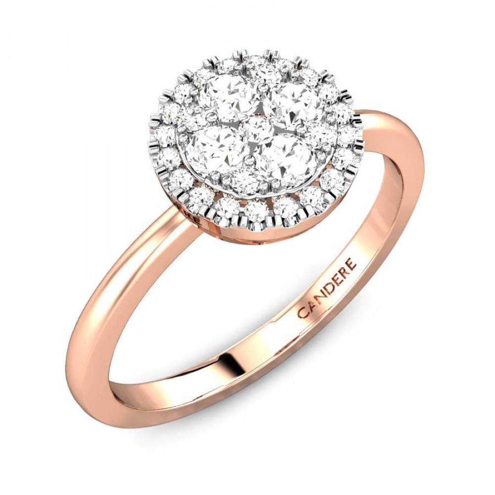 Candere By Kalyan Jewellers 14k (585) BIS Hallmark Rose Gold ...