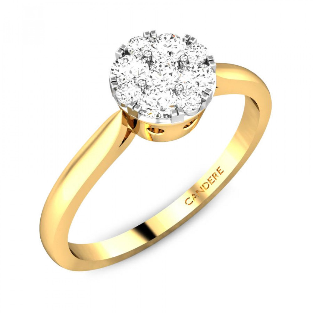 Candere By Kalyan Jewellers 14k (585) BIS Hallmark Yellow Gold ...